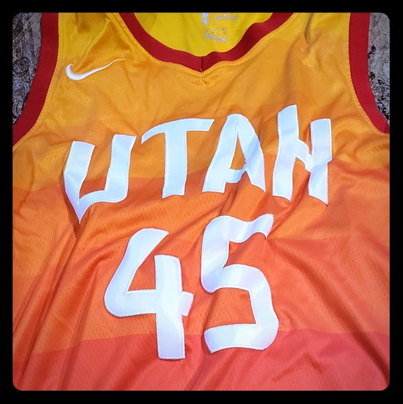 online store 16607 d71f8 Donovan Mitchell Jersey youth XL